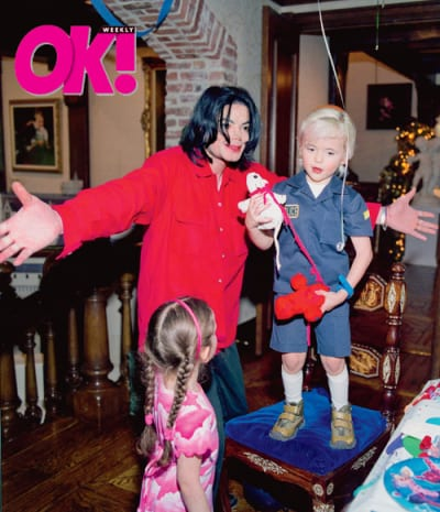Michael, Prince and Paris Jackson