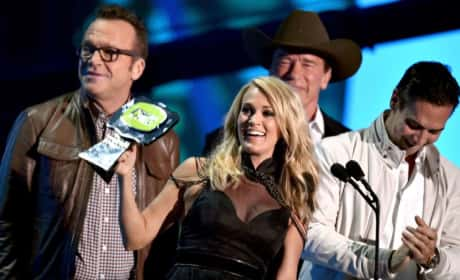 Carrie Underwood at the 2015 CMT Awards