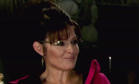 Sarah Palin Looks On