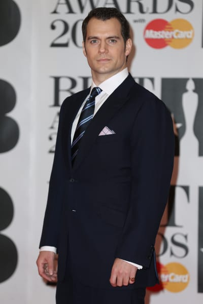 Henry Cavill: BRIT Awards 2016