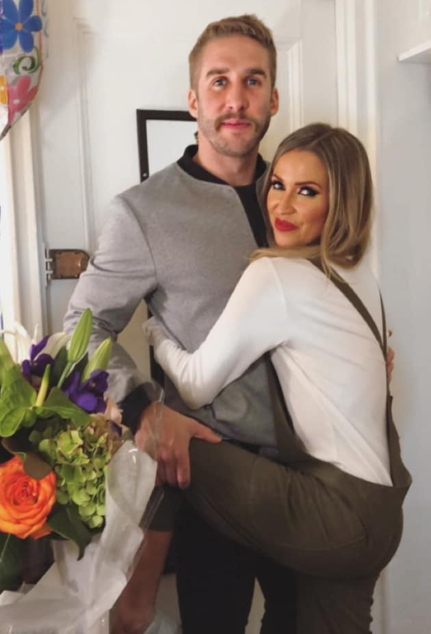 Kaitlyn Bristowe and Shawn Booth Posing