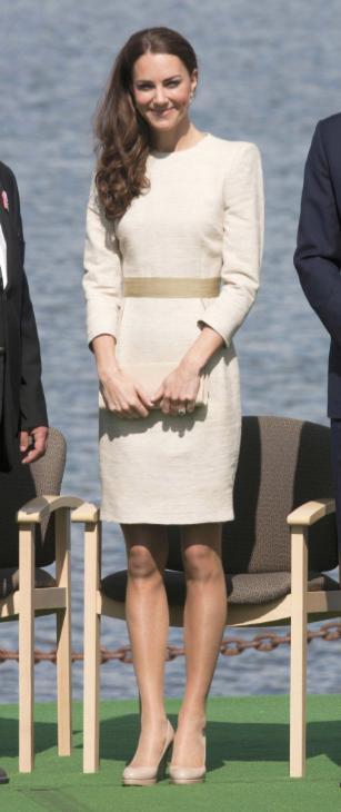 Kate Middleton, White Dress