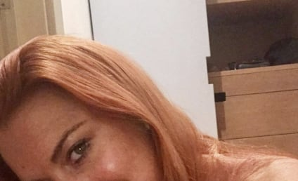 Lindsay Lohan: Nude, Pensive on Instagram