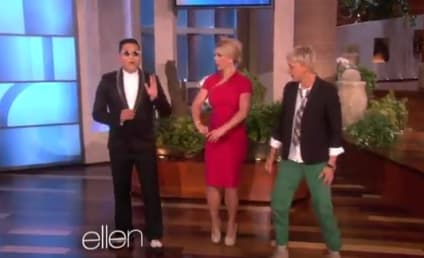 """Britney Spears Does """"Gangnam Style"""" Dance on Ellen"""