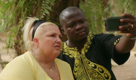 Angela Deem and Michael Ilesanmi Listen Nervously to the Doctor