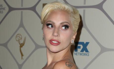 Lady Gaga at the Emmy Awards
