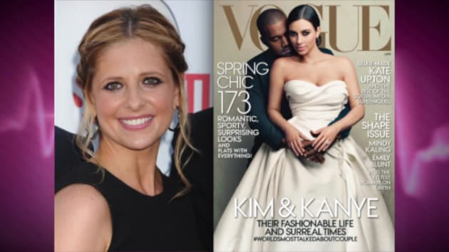 Sarah Michelle Gellar Slams Kim Kardashian Vogue Cover