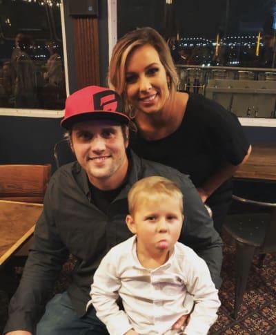 Ryan Edwards, Mackenzie Standifer, son