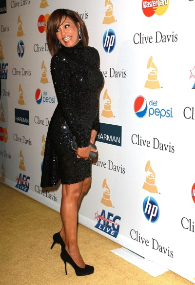Whitney Houston on a Red Carpet