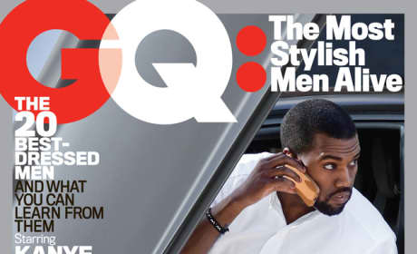 Kanye West GQ Cover Pic