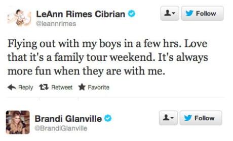 LeAnn Rimes - Brandi Glanville Twitter War