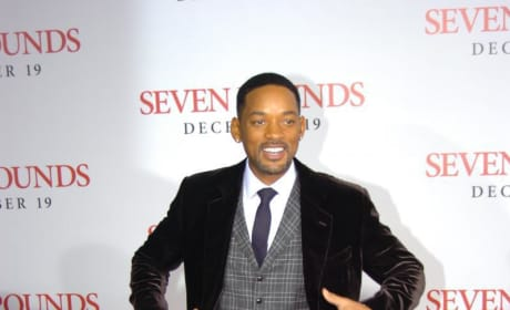 At Seven Pounds Premiere