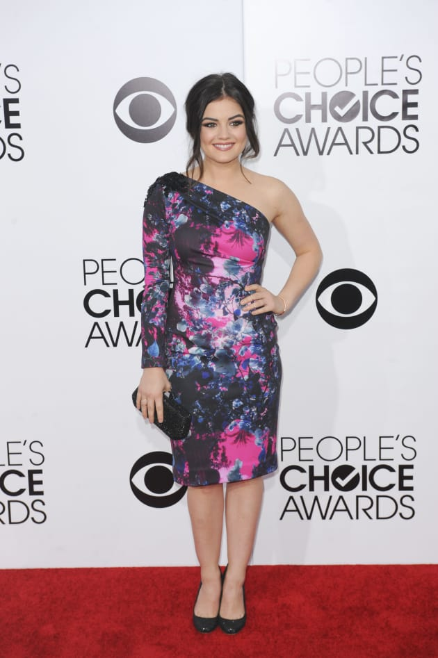 Lucy Hale at the 2014 PCAs