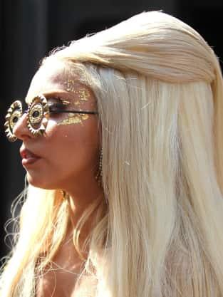 Lady Gaga Eyeball Sunglasses