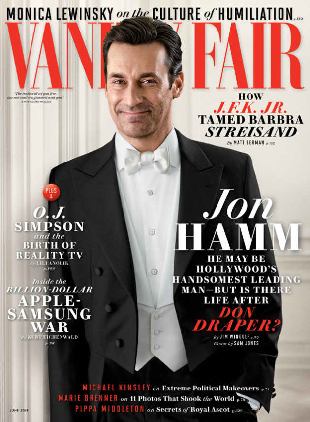 Jon Hamm Vanity Fair Cover