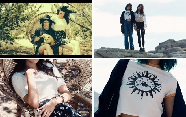 Kendall and kylie jenner pacsun commercial