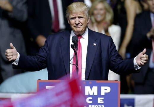 Donald Trump in Akron