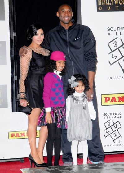 Kobe Bryant, Family