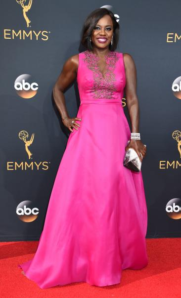 Viola Davis at the 2016 Emmys