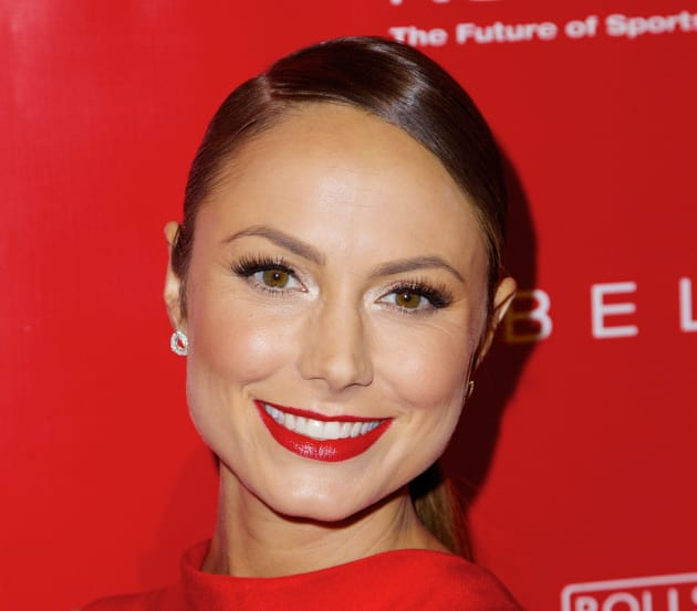 Stacy Keibler in Red