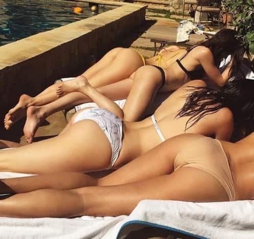 Kendall Jenner's Butt in a Bikini