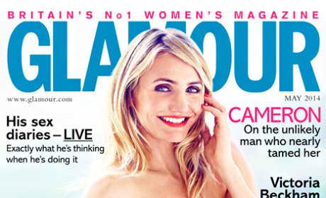 Cameron Diaz Glamour Cover
