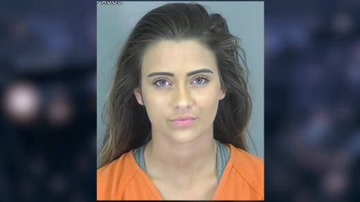 Madison Cox Mug Shot