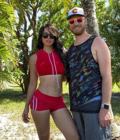 Paola Mayfield and Russ Mayfield Keep Fit Outside