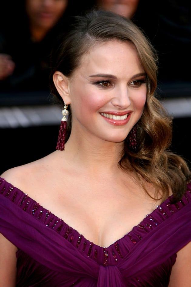 Natalie Portman at the Academy Awards