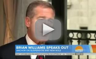 Brian Williams Breaks Silence on Lying Scandal: I Told the Story Correctly For Years