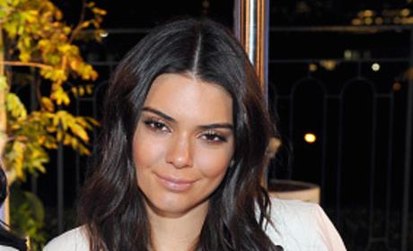 Kendall Jenner Sits Down