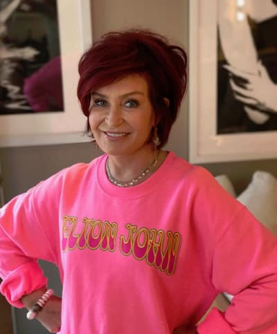 Sharon Osborne, Big Pink sweatshirt