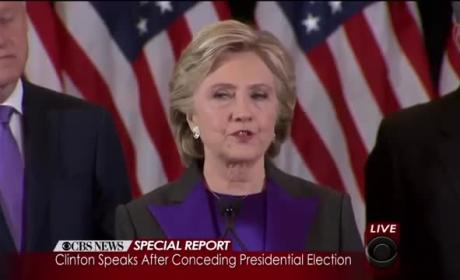 Hillary Clinton Concession Speech