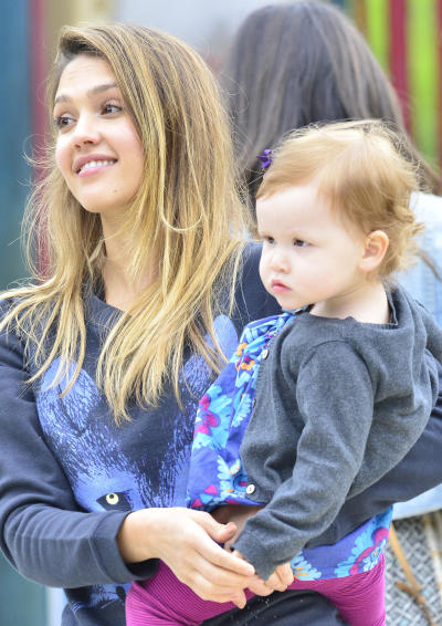 Jessica Alba as a Mother