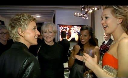 Ellen DeGeneres Takes Fans Behind Scenes of the Oscars, Twitter-Shattering Selfie