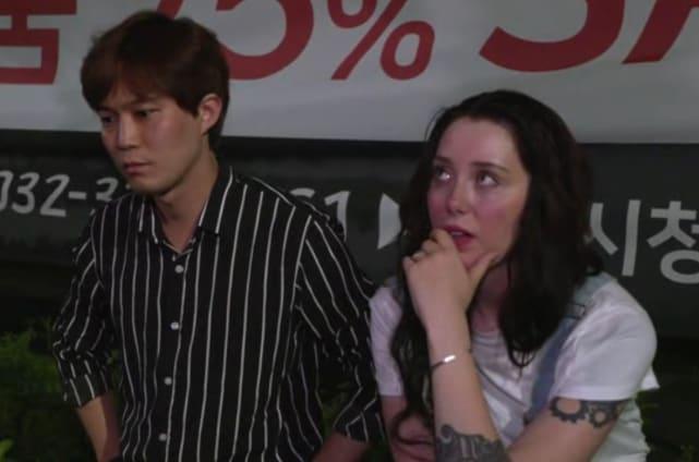 Jihoon lee and deavan clegg cry together