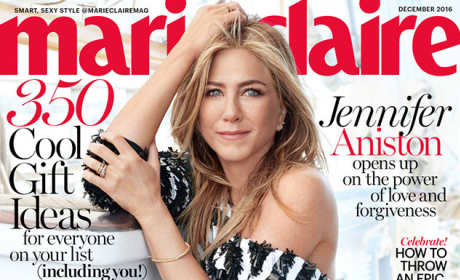 Jennifer Aniston Marie Claire Cover