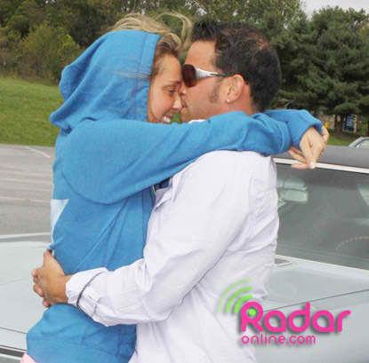 Kissing Hailey