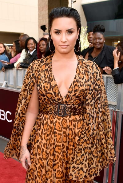 Demi Lovato at the BMAs