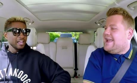 Usher on Carpool Karaoke: Teaching James Corden to Dance, Discussing Veganism