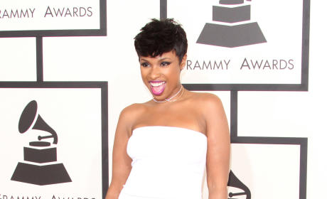 Jennifer Hudson at the 2015 Grammys