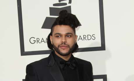 The Weeknd at the 2016 Grammys