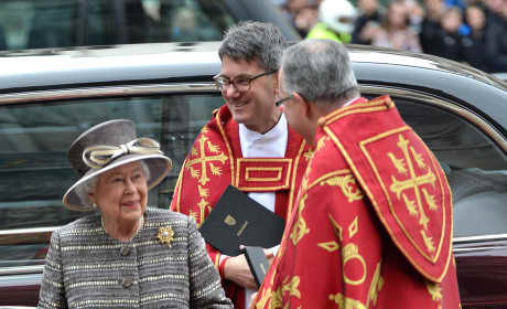 Queen Elizabeth II: Inauguration of the Tenth General Synod in London