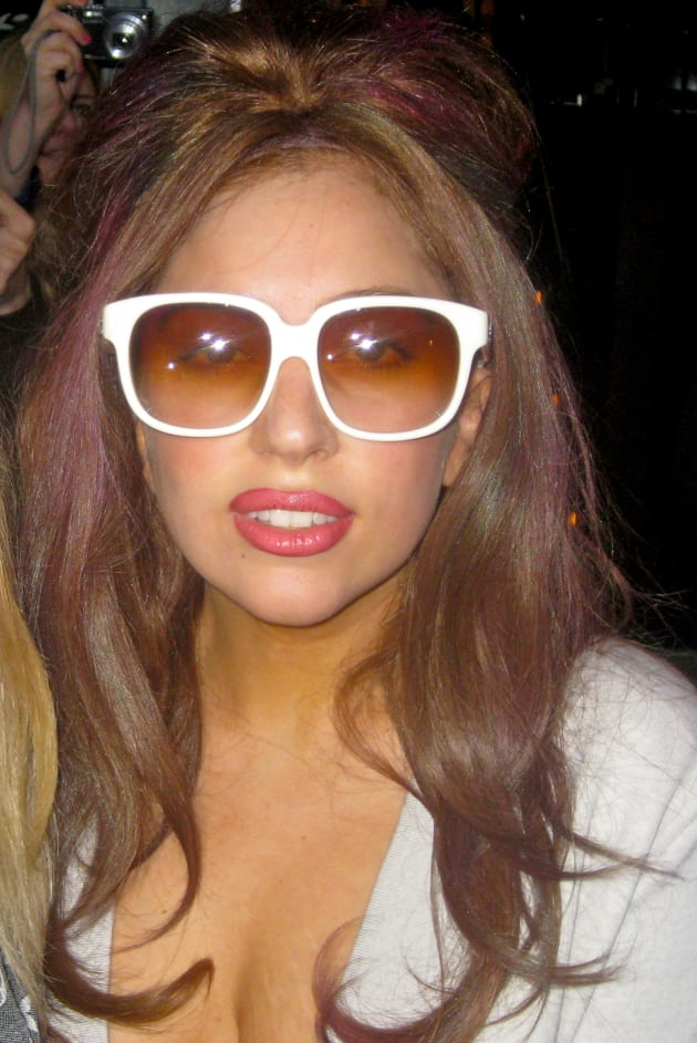Gaga in Glasses