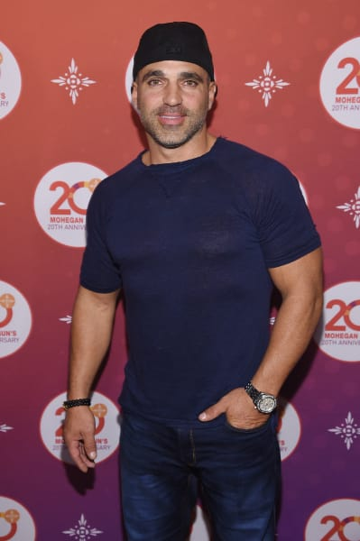 Joe Gorga Poses
