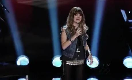 Juliet Simms: The Voice Audition