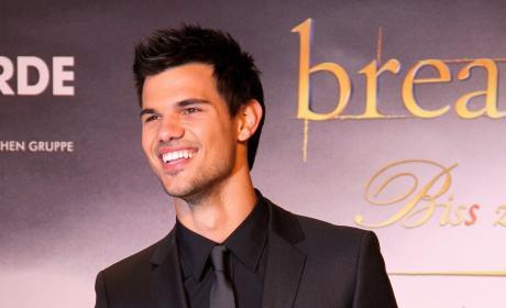 Taylor Lautner in Berlin, Germany