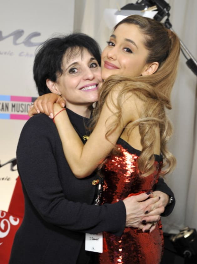 Joan Grande and Ariana Grande