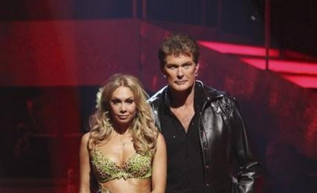 David Hasselhoff and Kym Johnson Photo