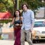 Hallie and Jesse Eisenberg